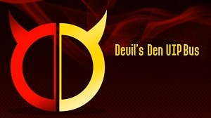 Devil's Den VIP bus