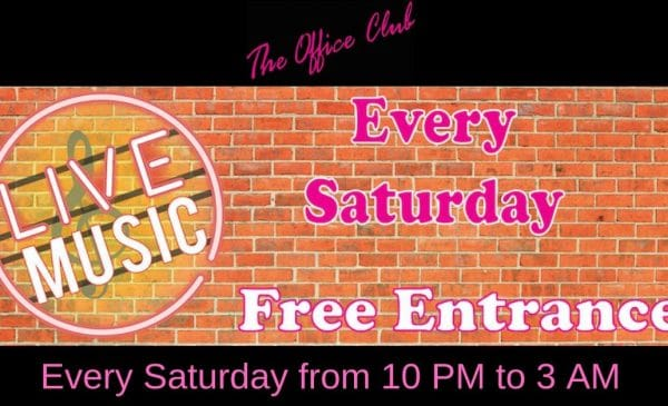 """Exclusive : """"Live Music"""" Party at «The Office Club»"""